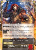 Apostle of Creation/Cain, the Traitor of Gods (R) (Foil)