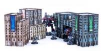 Micro Scale Hab Block Set (Pre-Painted)