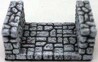 3 Inch Fieldstone Dungeon Corridor #1