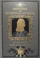 "Memoirs of ""Stonewall"" Jackson"