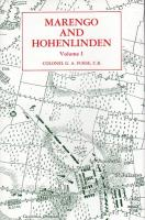 Marengo and Hohenlinden Vol. 1