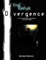 Divergence Sourcebook