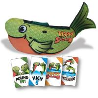 Happy Salmon - Green Fish