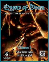 Quests of Doom Vol. 1 w/PDF (D&D 5e)