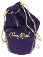 Crown Royal Dice Bag - Purple