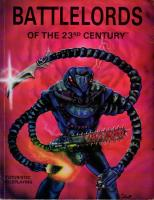 Battlelords of the Twenty-Third Century (3rd Edition, 1st Printing)