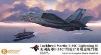Lockheed Martin F-35C Lightning II w/Tow Tractor