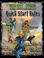 Mutant Epoch, The - Quick Start Rules
