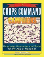 Corps Command - Campaigns