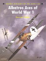 Albatros Aces of World War 1 - Part 1