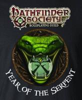 Pathfinder Society - Year of the Serpent T-Shirt (XXL)
