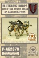 Blutkreuz Korps Laser Tank-Hunter Squad - Babylon Pattern