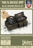 Allied Weapon Crates - Bar & Grease Gun