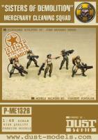 Sisters of Destruction - Mercenary Cleaning Squad (Premium Edition)