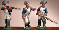 French Officer, Infantry Firing, & Infantry Advancing Moulds