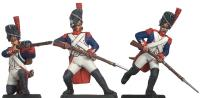 Imperial Guard Infantry Attacking 1805 Moulds