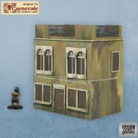 Two-Story Venetian Building