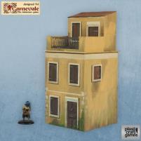 Two-Story Venetian Building w/Attic