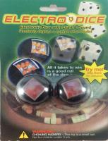 Solid Black ElectroDice Set (2 d6)
