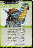 Skull & Shackles Promo Card - Ranzak (Free RPG Day 2014)