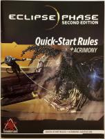 Quick-Start Rules (2nd Edition) w/Acrimony Adventure