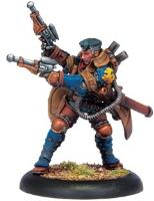 Lieutenant Allister Caine - Warcaster (2009 Edition)