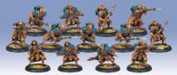Trencher Infantry w/Three Weapon Attachments