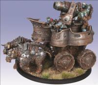 Trollkin War Wagon - Cavalry Battle Engine