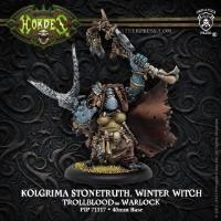 Warlock - Kolgrima Stonetruth, Winter Witch