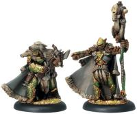 Reeves of Orboros Chieftain & Standard - Unit Attachment