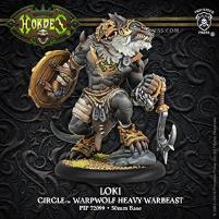 Loki - Warpwolf Heavy Warbeast
