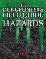 Dungeoneer's Field Guide to Hazards