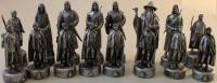 Lord of the Rings - Fellowship of the Ring Chess Set (Bilingual French Edition)