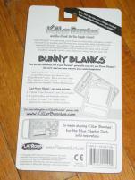 Bunny Blanks Set #2