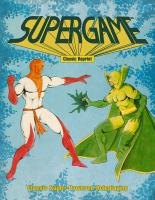 Supergame - Super-Powered RPG (Classic Reprint)