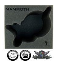 "6"" Skorne - 1 Mammoth Colossal Foam Tray"