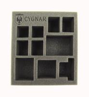 "2 1/2"" Cygnar - Battlegroup Starter Box, Half Foam Tray"