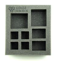 "2 1/2"" Circle Orboros - Starter Demo Half-Foam Tray"