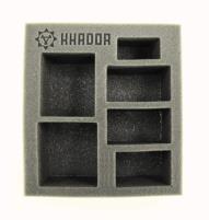 """2 1/2"""" Khador - Battlegroup Starter Box,  Half Foam Tray"""