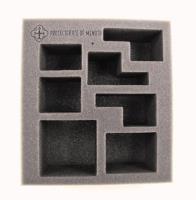 "2 1/2"" Protectorate of Menoth - Battlegroup Starter Box, Half Foam Tray"