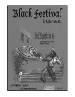 Black Festival (Author's Copy)