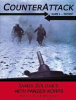 48th Panzer Korps - Battles on the River Chir (2nd Edition)