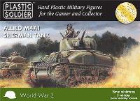 Allied M4A1 Sherman Tank