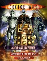 Aliens and Creatures