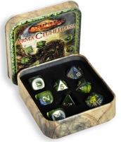 Arma Ctuhlhiana - Cthulhu Dice Set w/Tin (Limited Edition)
