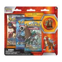 3-Pack Pin Booster - Entei