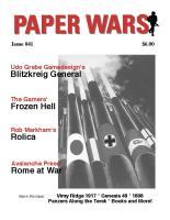 """#41 """"Blitzkrieg General, Frozen Hell, Rolica, Rome at War"""""""
