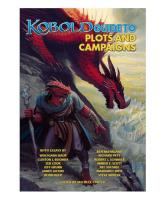 Kobold Guide to Plots and Campaigns