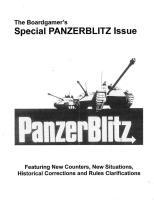 PanzerBlitz Special Issue (Unbound Reprint)