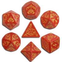 Curse of the Crimson Throne Dice Set (7)